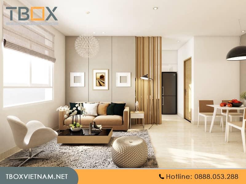 hoàn thiện căn hộ chung cư trọn gói TBOX