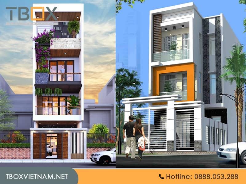 Nên lựa chọn những căn nhà có thiết kế không quá phức tạp
