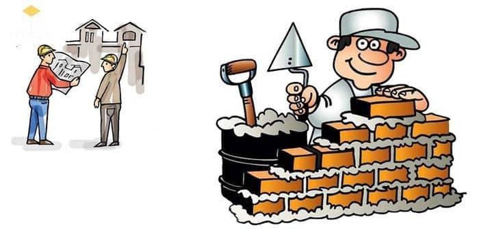 công việc nhân công xây dựng
