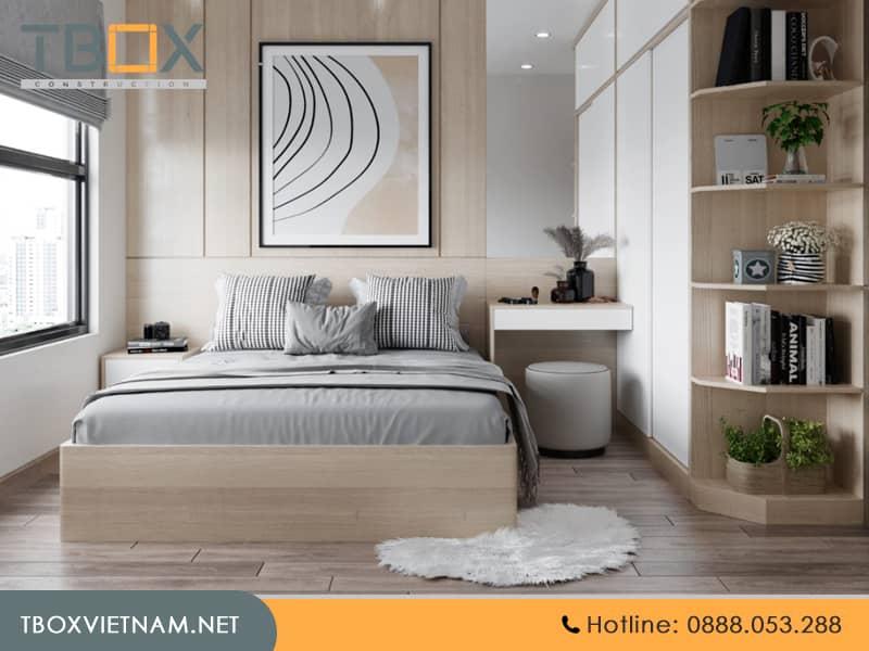 Chi phí thi công phòng ngủ trọn gói giá rẻ TBOX